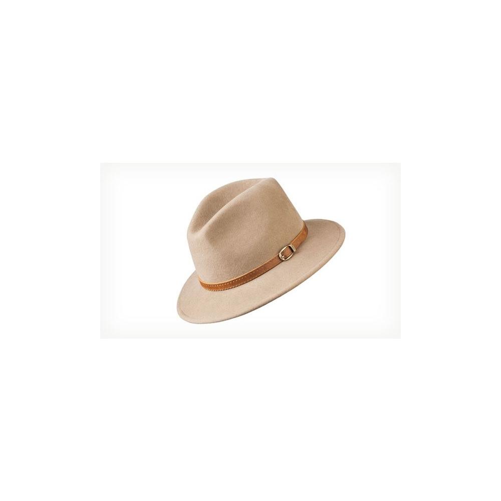 Olney Olney Safari Soffelt Wool Felt Hat - Mole