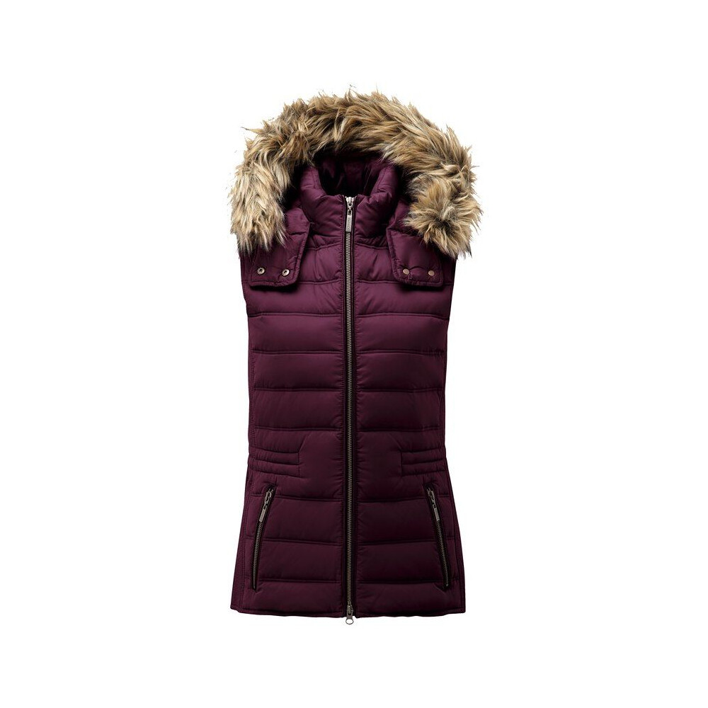Schoffel Schoffel Chelsea Down Gilet with Hood - Fig