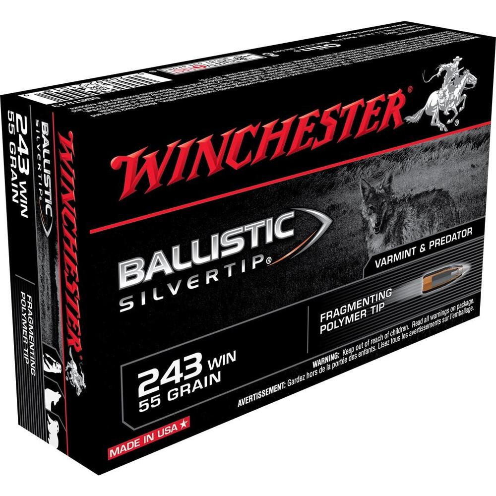 Winchester .243 Ammunition - 55gr - BST Unknown