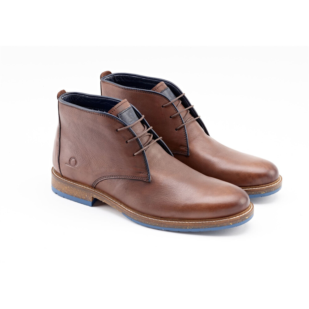 Chatham Perry Leather Chukka Boots - Brown