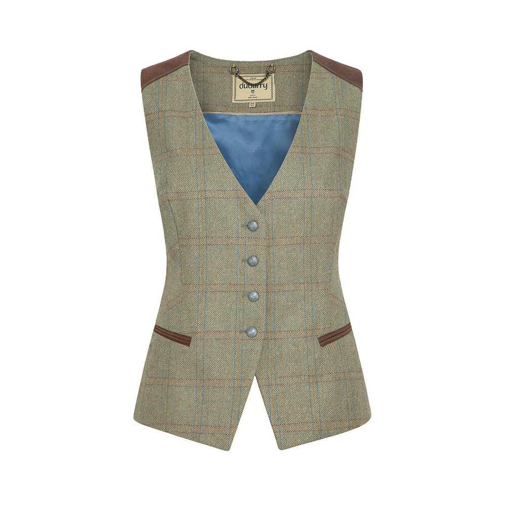 Dubarry Daisy Fitted Tweed Waistcoat - Acorn Acorn