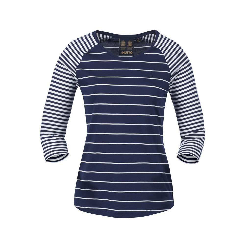 Musto Musto Lucia 3/4 Sleeved Stripe Top