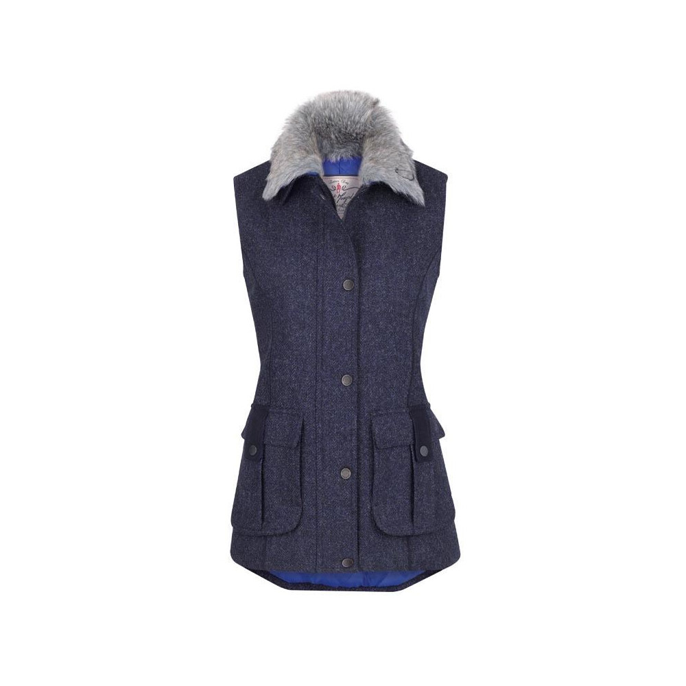 Jack Murphy Jilly Tweed Gilet - Size 8
