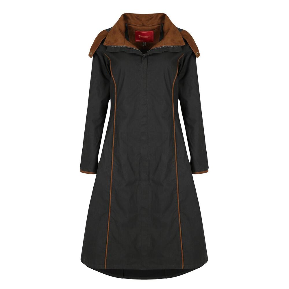 Welligogs Eleanor Long Coat - Black
