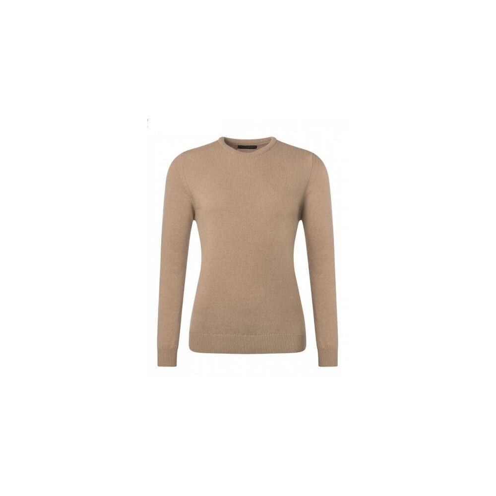 Hawick Knitwear Hawick Cashmere Pullover - Dark Natural