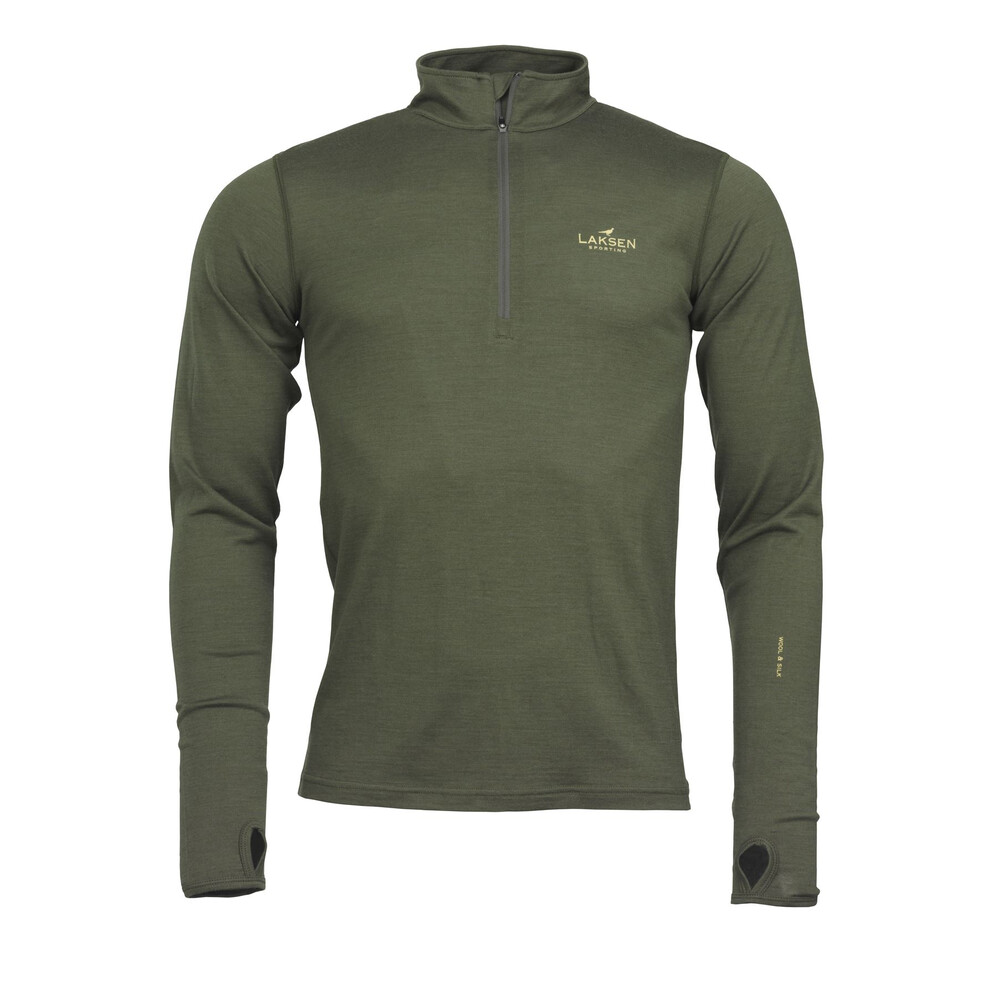 Laksen Laksen Lomond Thermal Full Sleeve Top - Olive