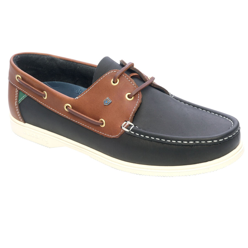 Dubarry Admirals Deck Shoe - Navy/Brown