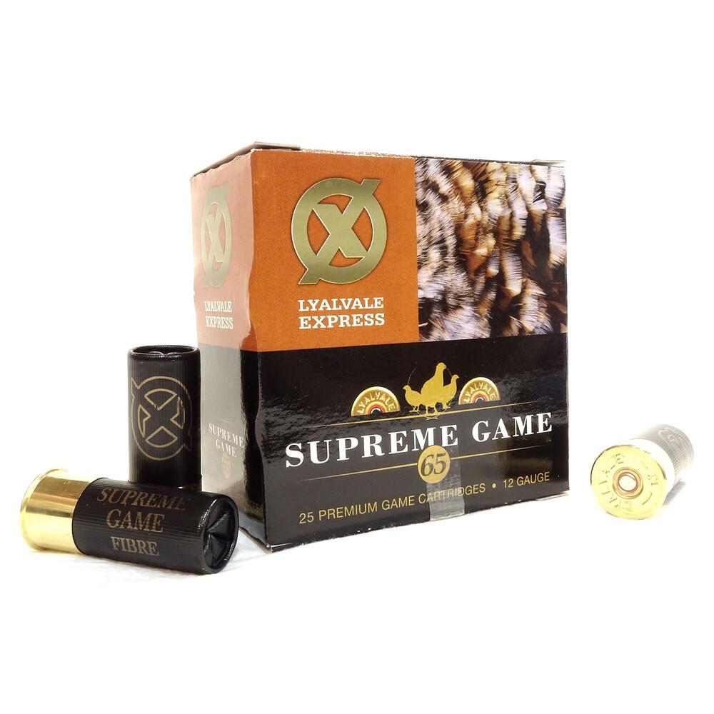 Lyalvale Express Supreme Game Shotgun Cartridges - 12 Gauge - 30g - 6 Shot
