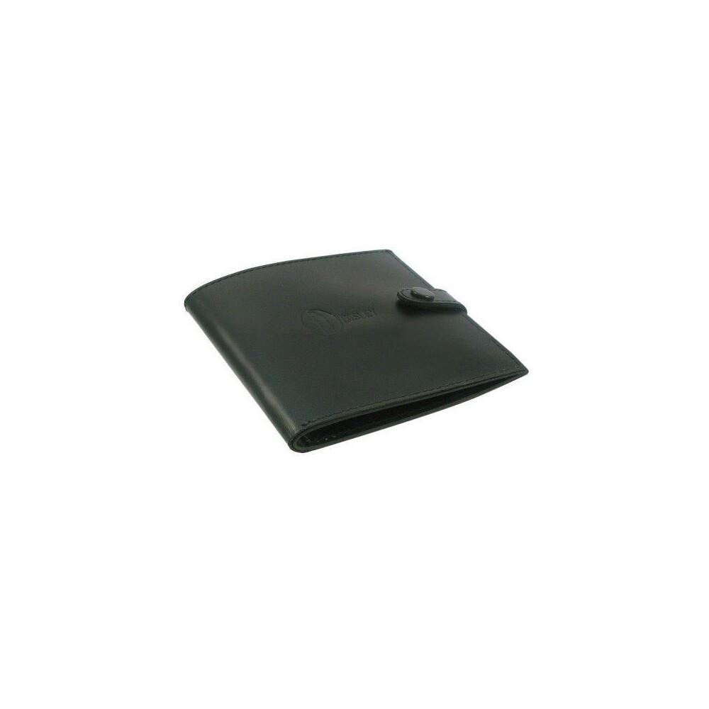 Bisley Leather Certificate Wallet Dark Brown