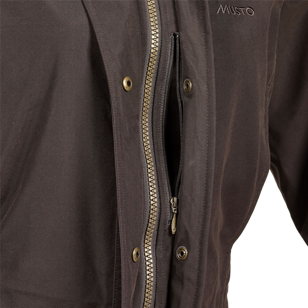 Musto Women's Burnham Jacket - Dark Moss Black TD