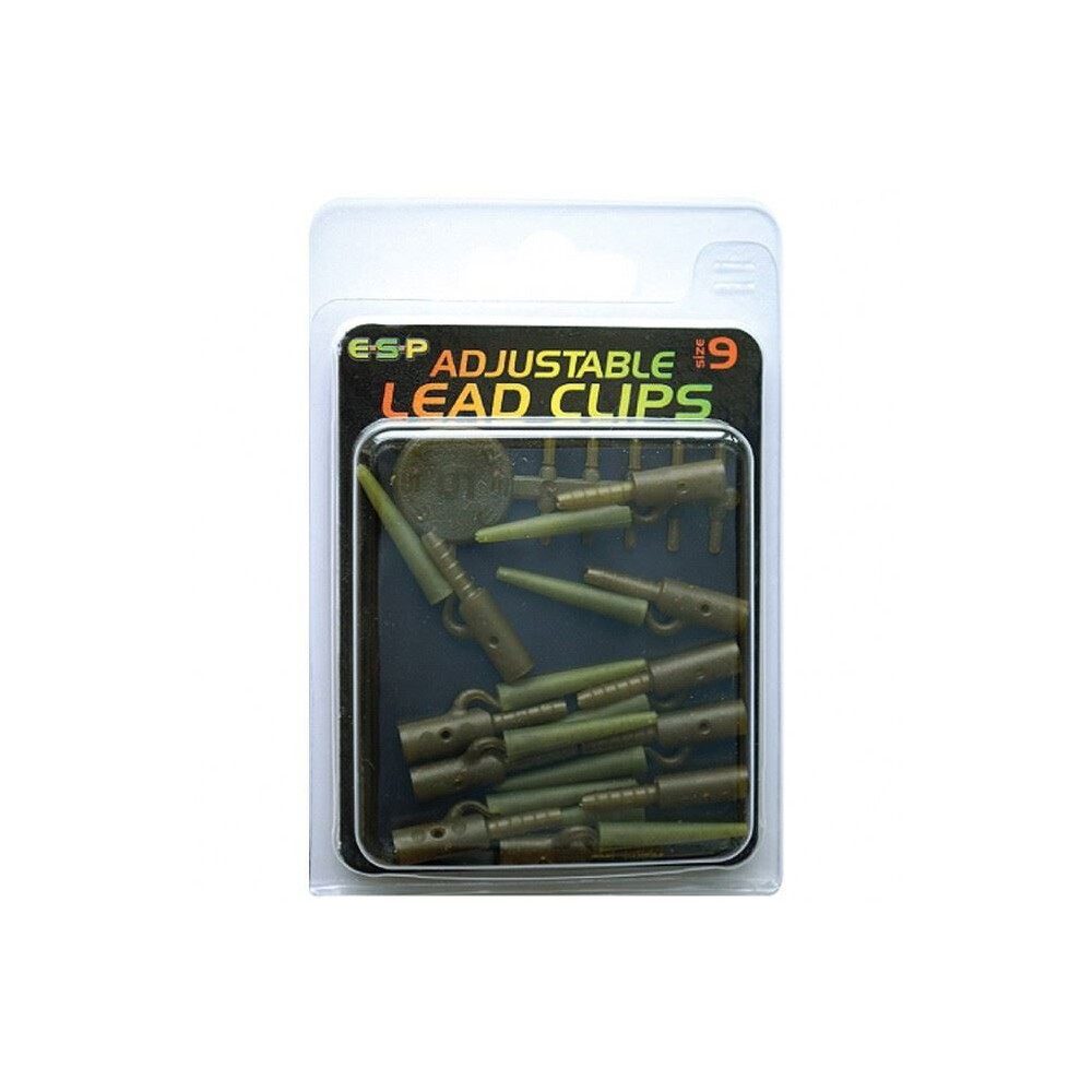 ESP Adjustable Lead Clip - Weed Green