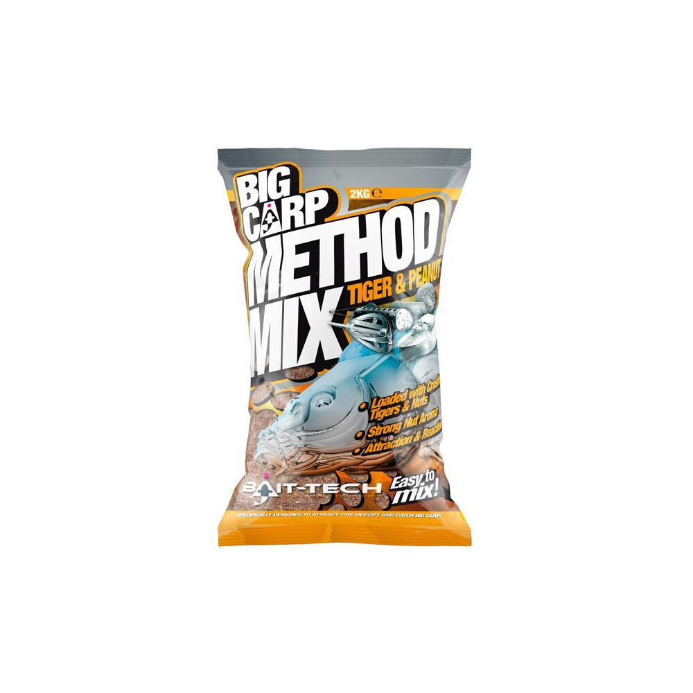 Bait-Tech Big Carp Method Mix - Tiger & Peanut Unknown