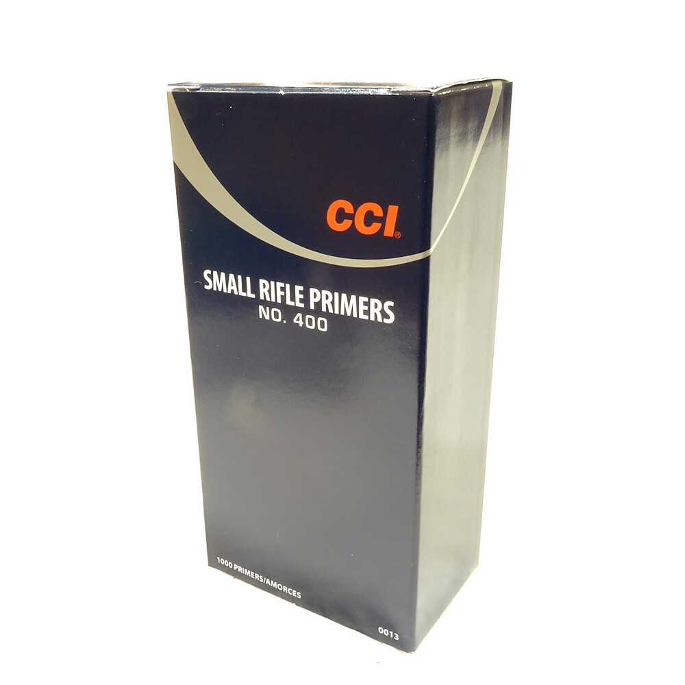 CCI Primers - #400 Standard Small Rifle - Pack of 1000