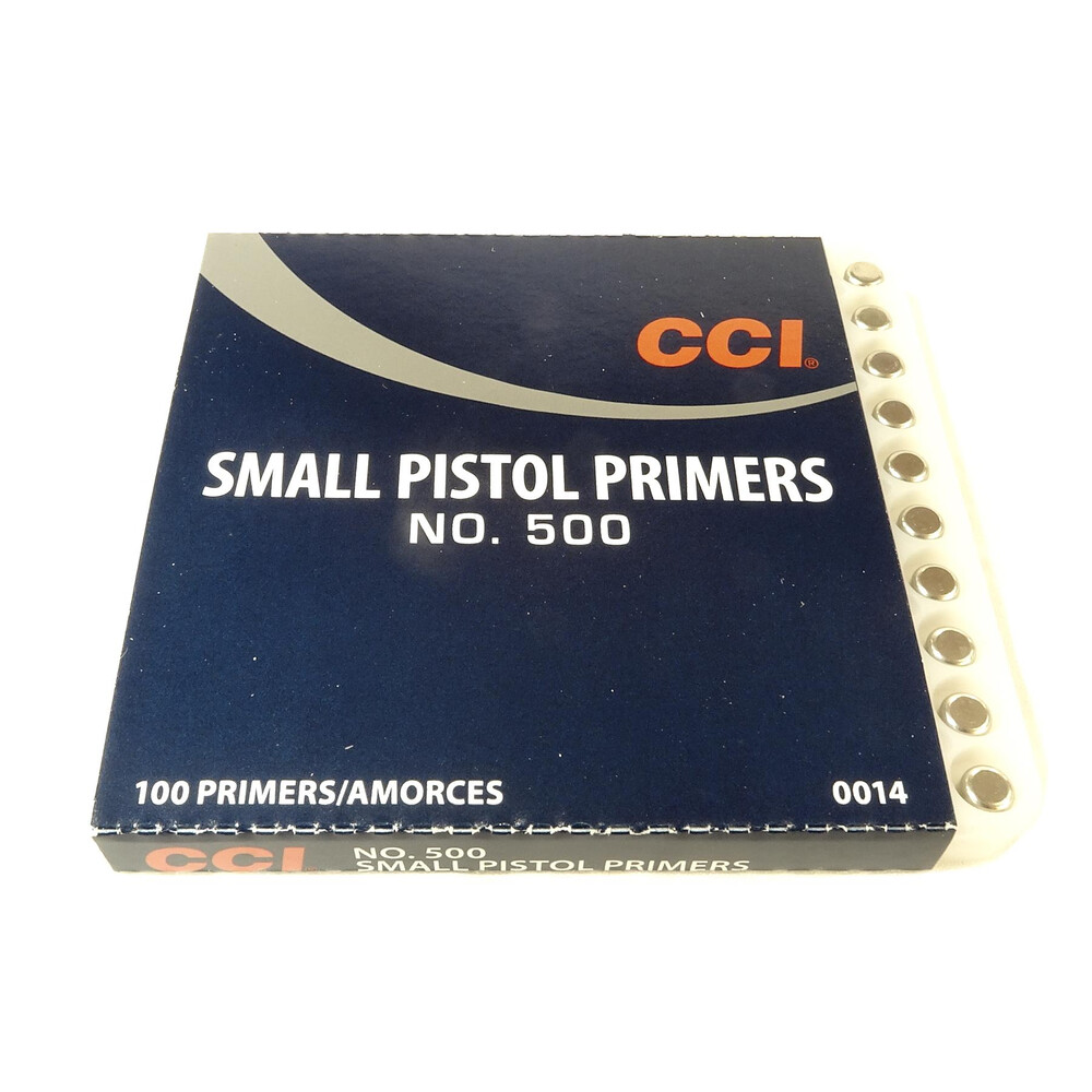 CCI Primers - #500 Standard Small Pistol Unknown