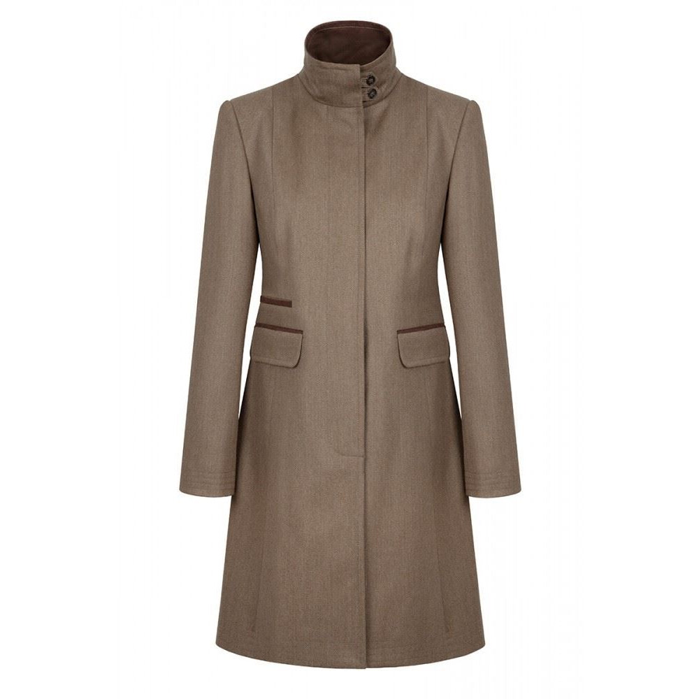 Dubarry Elmtree Tweed Coat - Loden