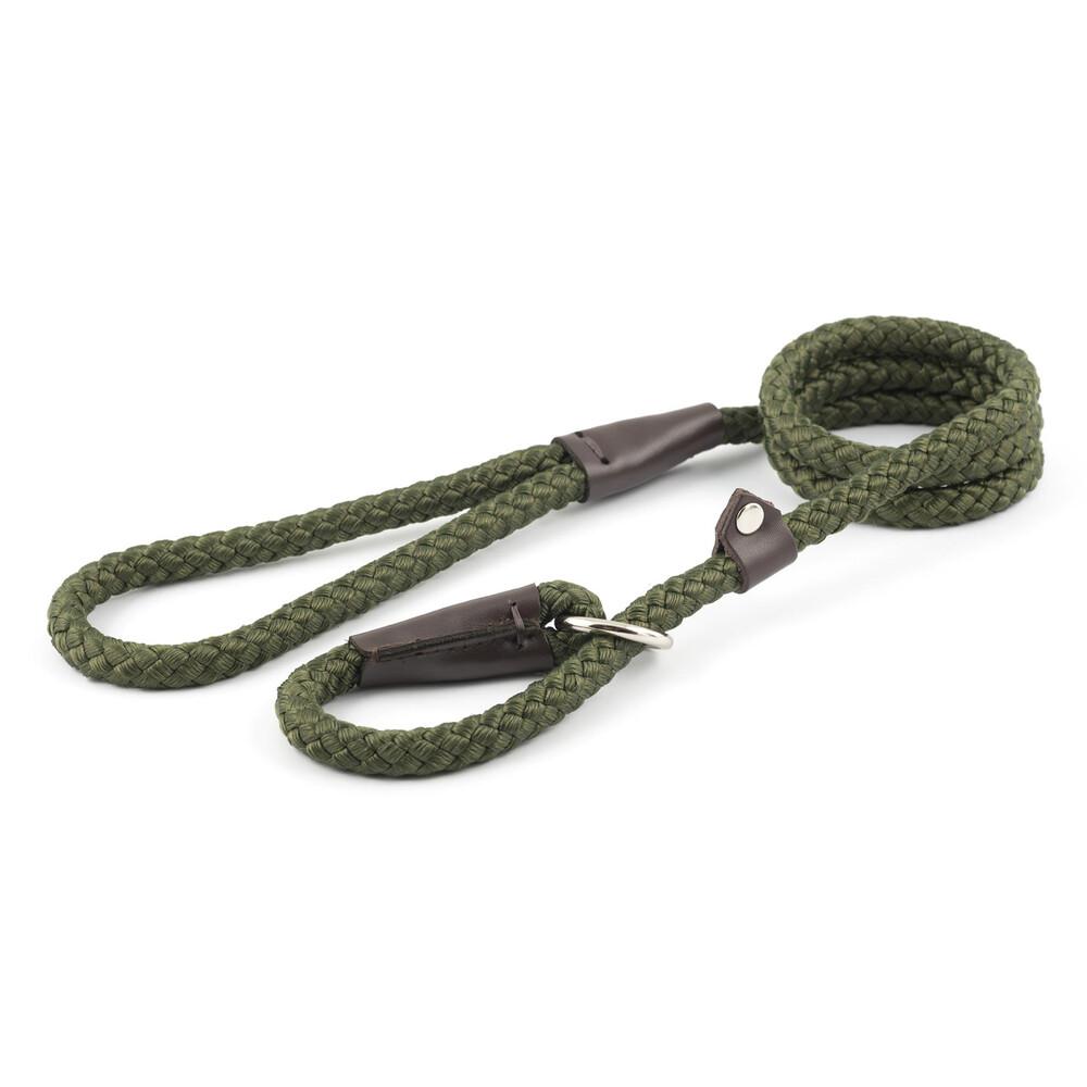 Ancol Slip Lead - 120cm Green