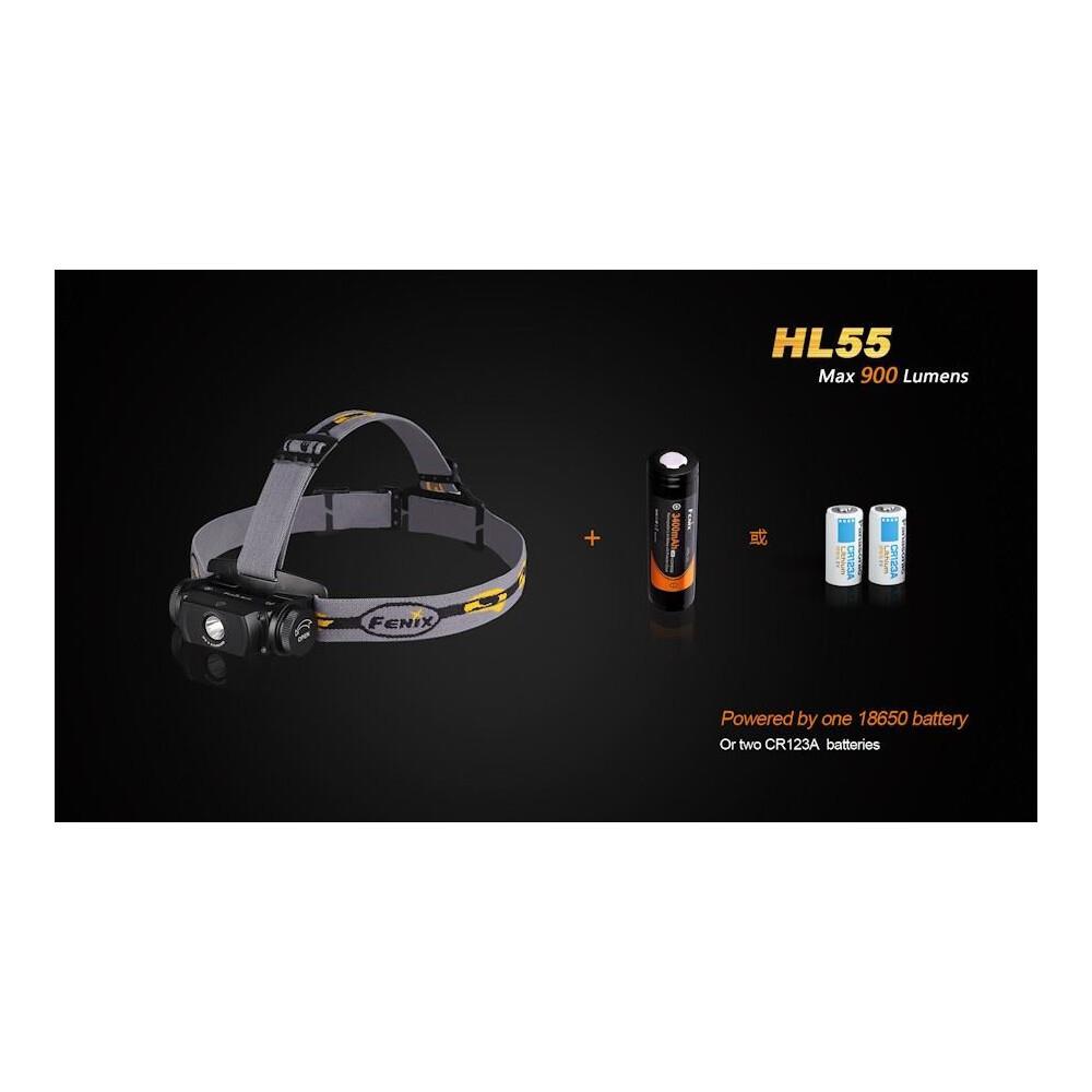 Fenix HL55 Headlamp Black