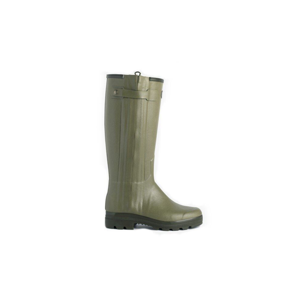 Le Chameau Le Chameau Chasseur Leather Lined Men's Wellington Boots - 41cm Calf