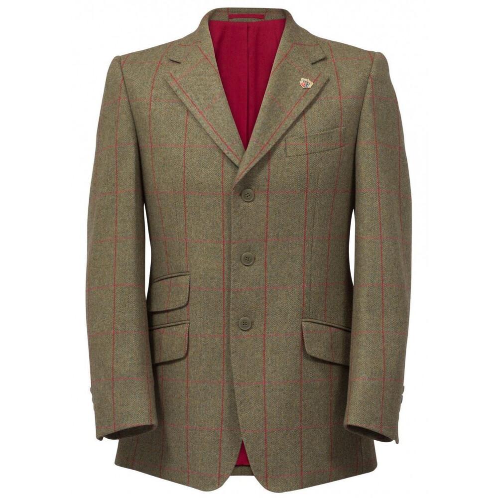 Alan Paine Alan Paine Combrook Tweed Blazer - Sage Tweed