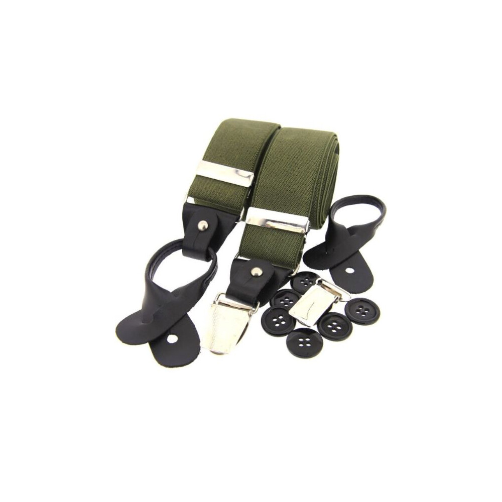 Soprano Country Luxury 2 in 1 Braces Olive