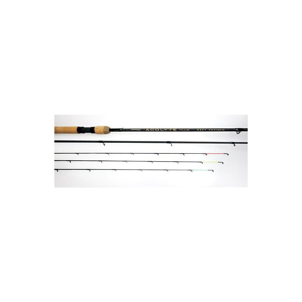 Drennan Acolyte Plus Feeder Rod - 11ft Black