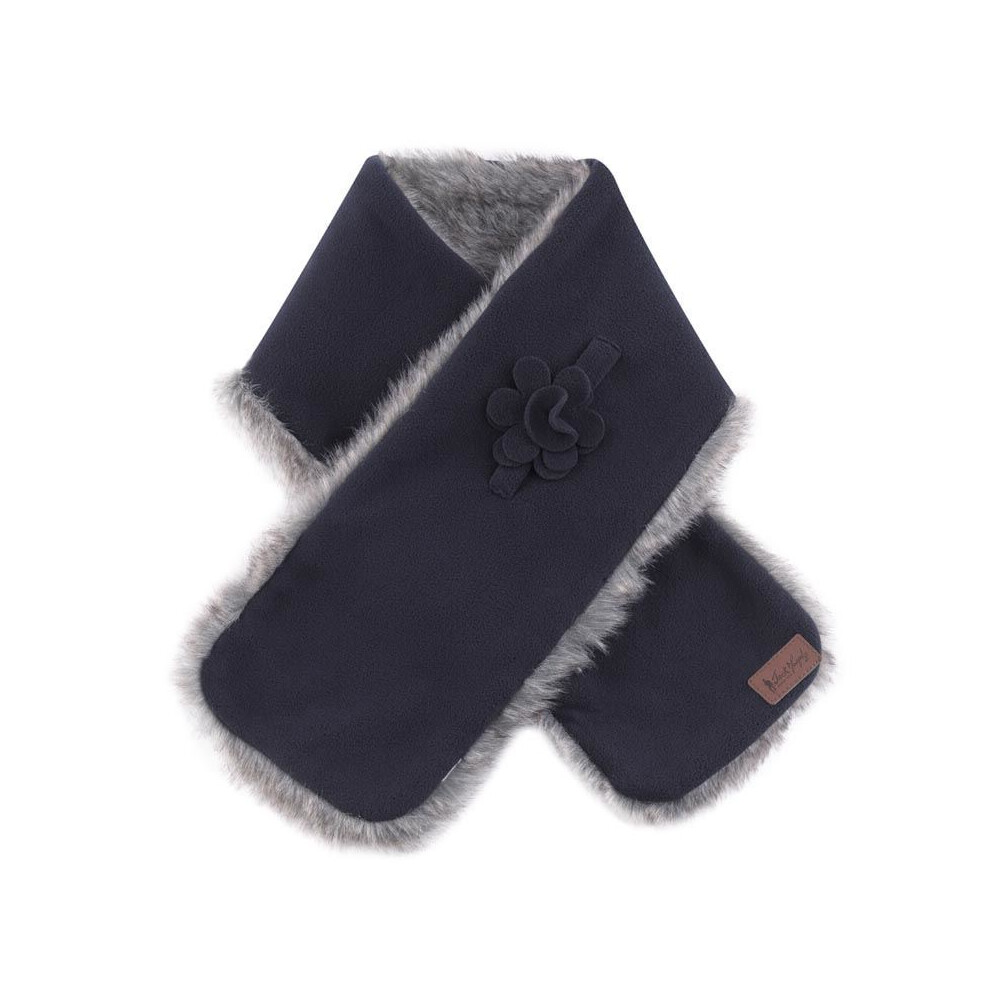 Jack Murphy Gatsby Fleece Scarf - Navy - One Size