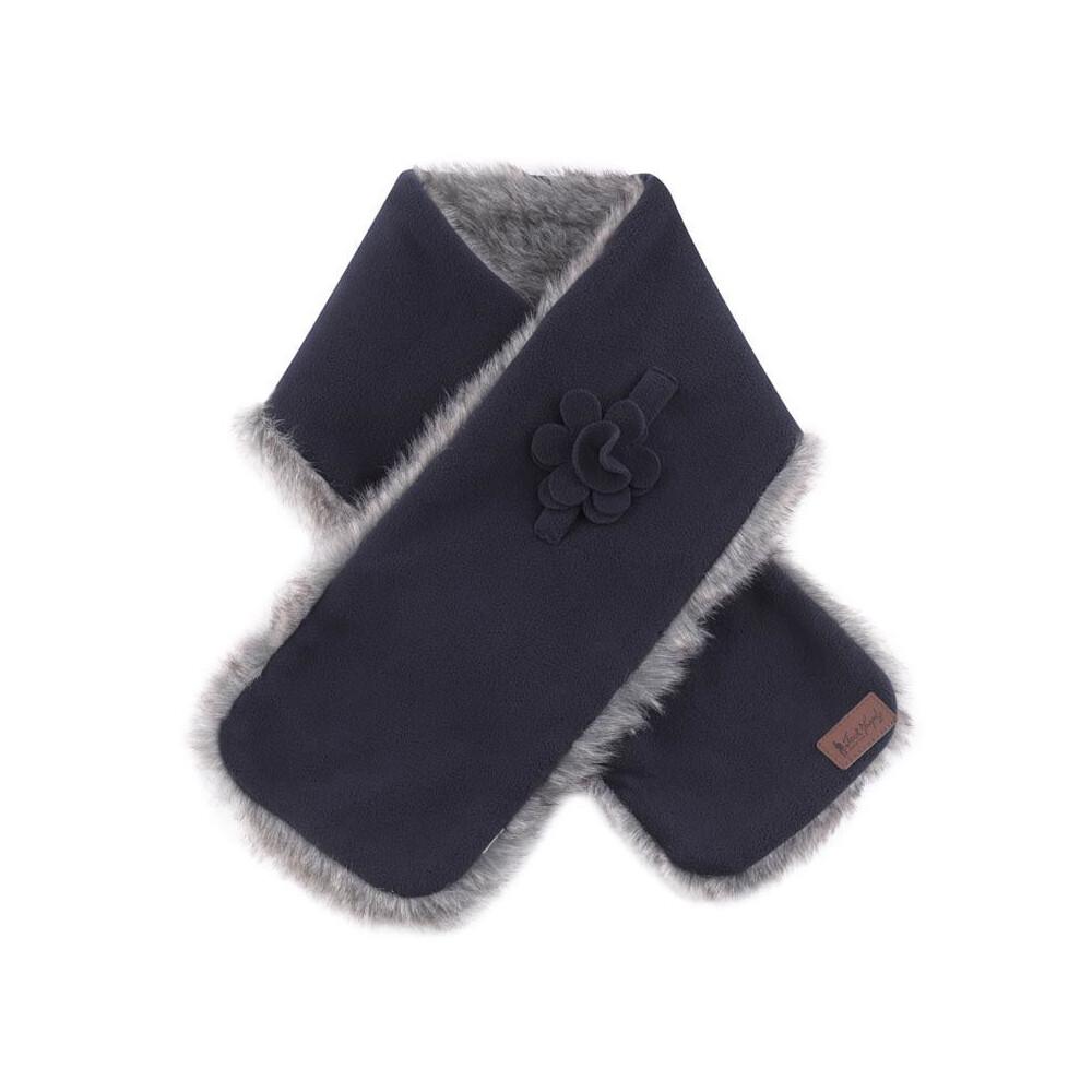 Jack Murphy Jack Murphy Gatsby Fleece Scarf - Navy - One Size