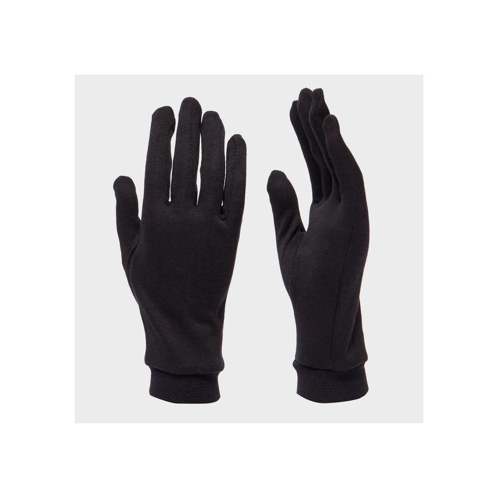 Trekmates Silk Gloves Black