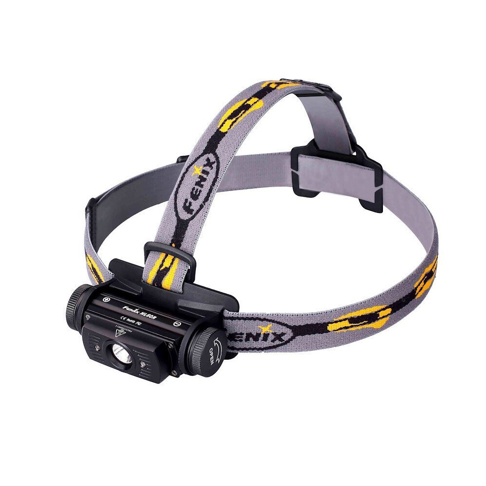 Fenix HL60R Rechargeable Head Torch - Black