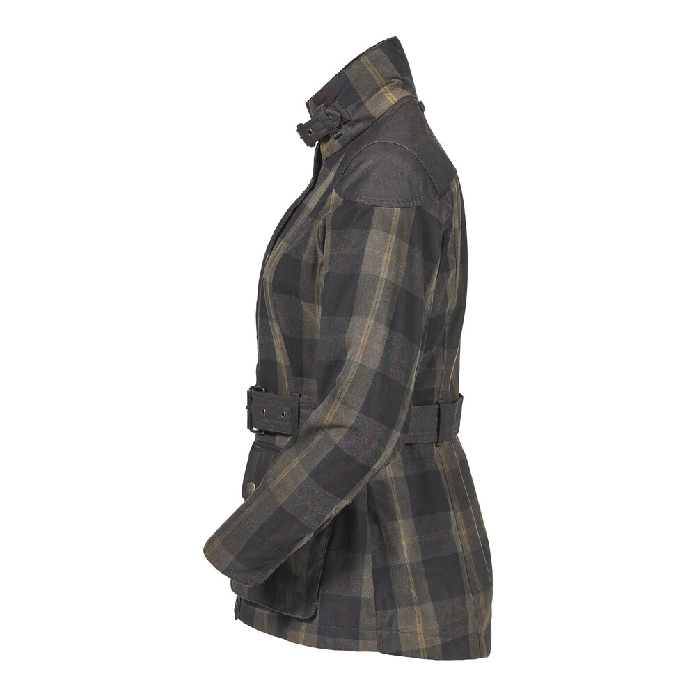 Musto Ashcombe Ladies  Jacket - Woodland Check Multi