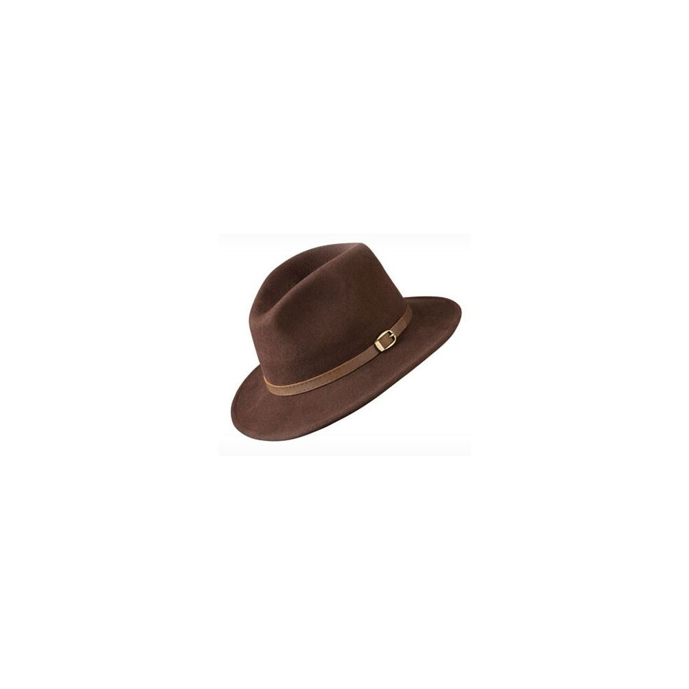 Olney Olney Safari Soffelt Wool Felt Hat - Mocha