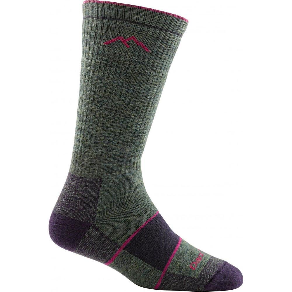 Darn Tough Darn Tough Womens Hiker Boot Sock - Moss