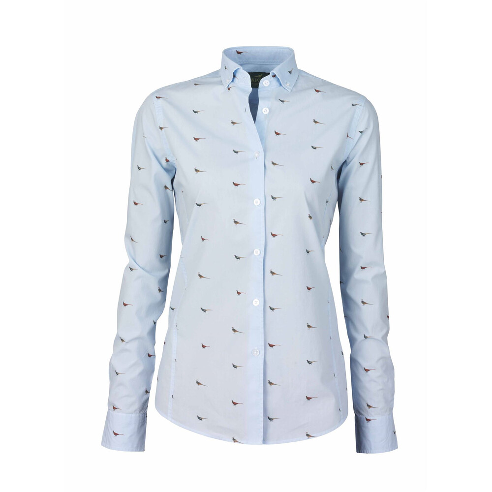 Laksen Laksen Hen Poplin Shirt - Light