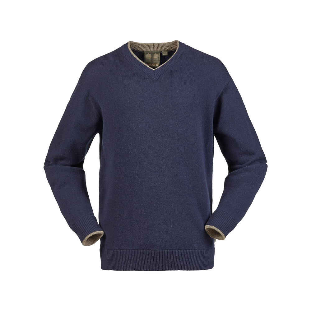 Musto Shooting V-Neck Knit - True Navy