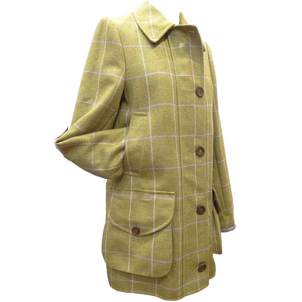 Beaver of Bolton Beatrice Shooting Coat Green