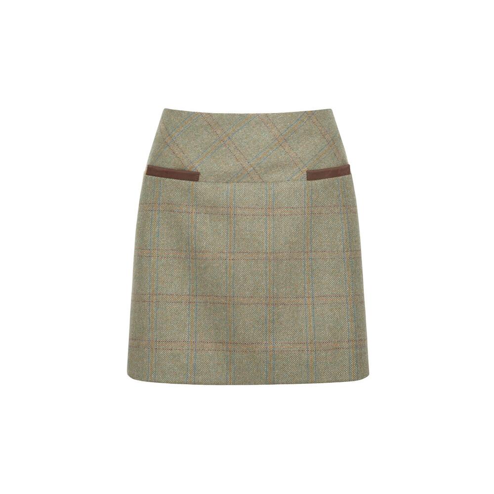 Dubarry Dubarry Clover Tweed Mini Skirt - Acorn