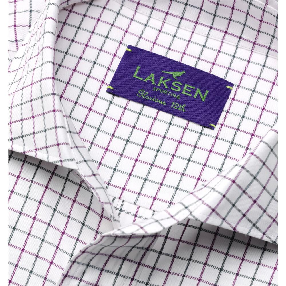 Laksen Glorious 12th Shirt - Purple/Green White