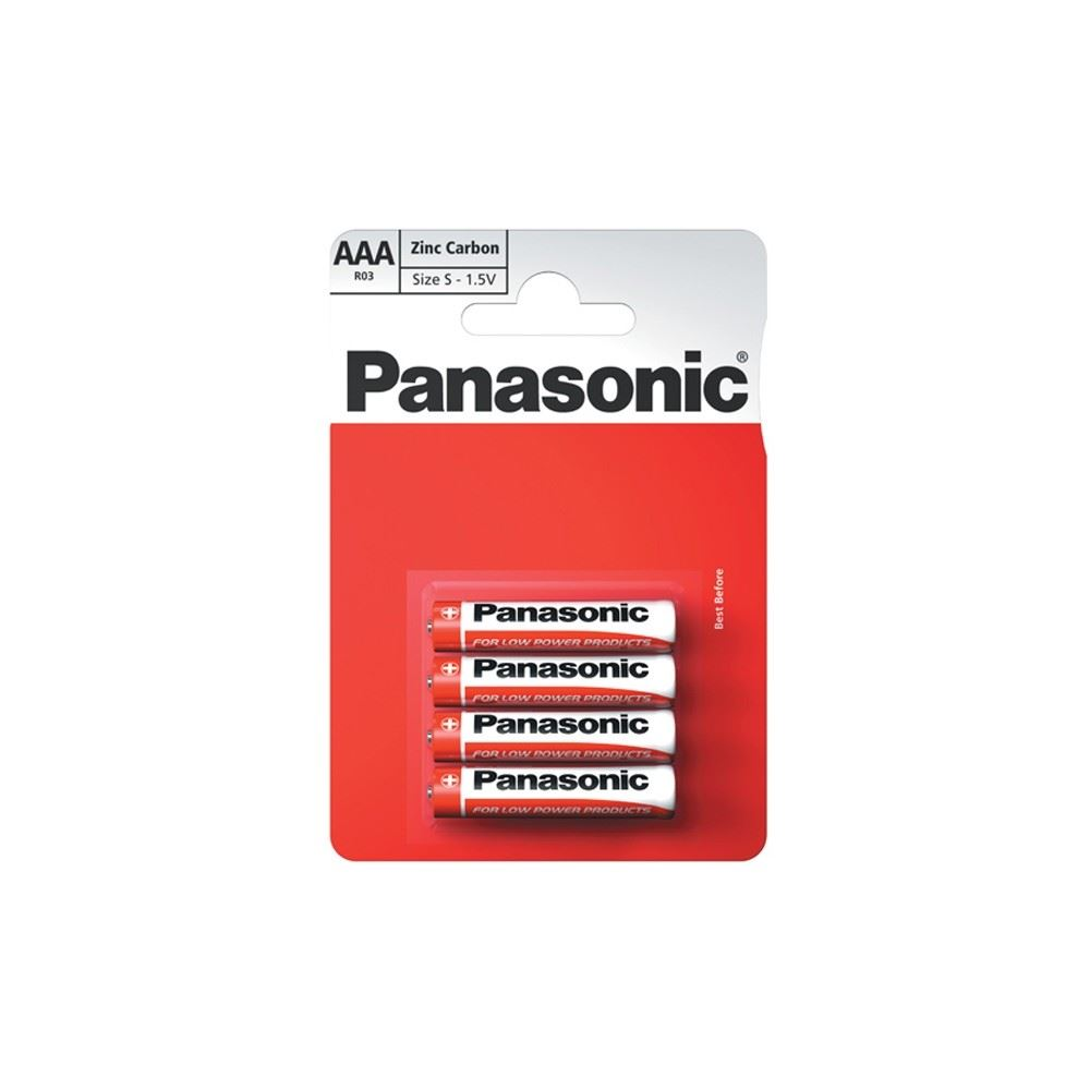 Tracer Panasonic AAA Batteries - 4 Pack