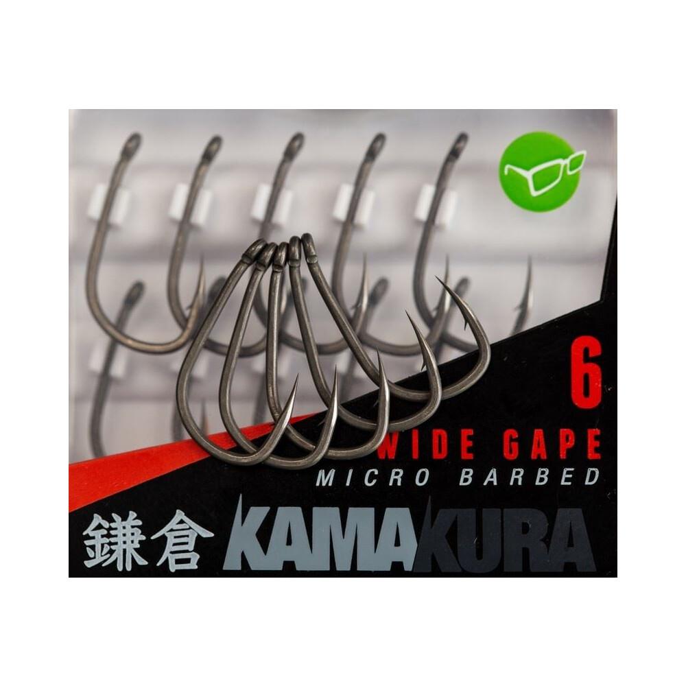 Korda Kamakura Hooks - Wide Gape - Barbless