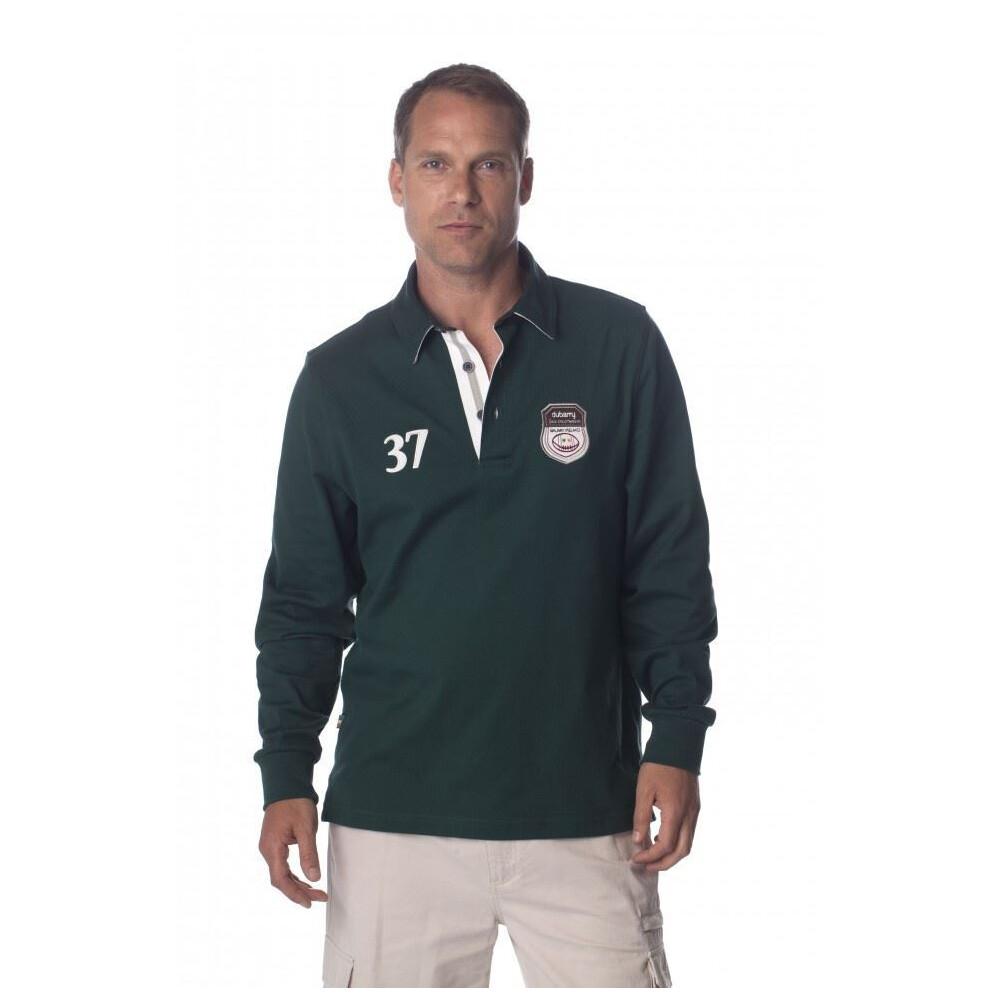 Dubarry Driscoll Men's Rugby Shirt - Racing Green