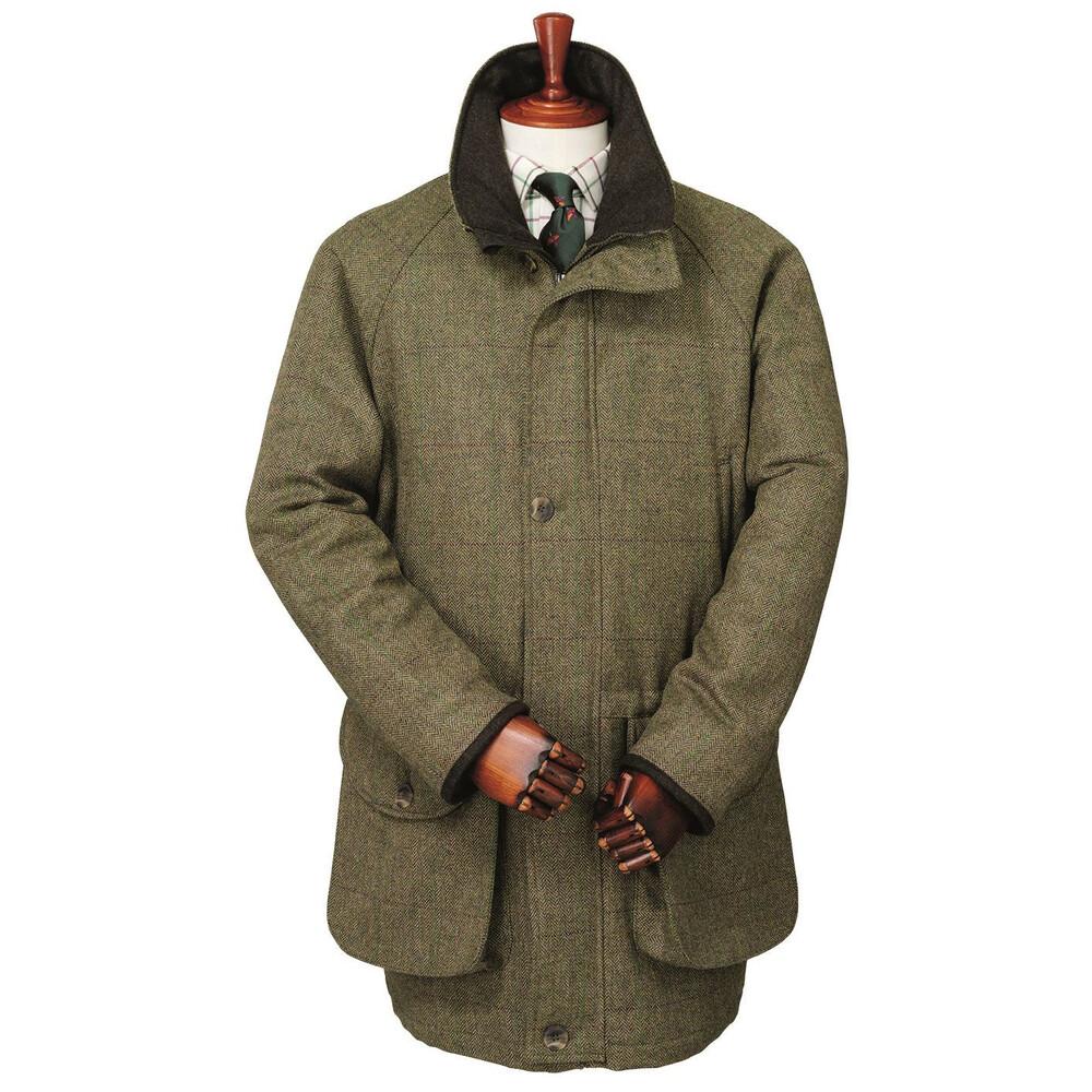 Laksen Laksen Dorset Tweed Roxbury Shooting Jacket - Large