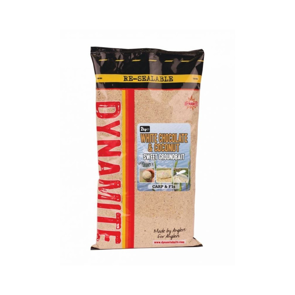 Dynamite Baits White Chocolate & Coconut Groundbait - 2kg