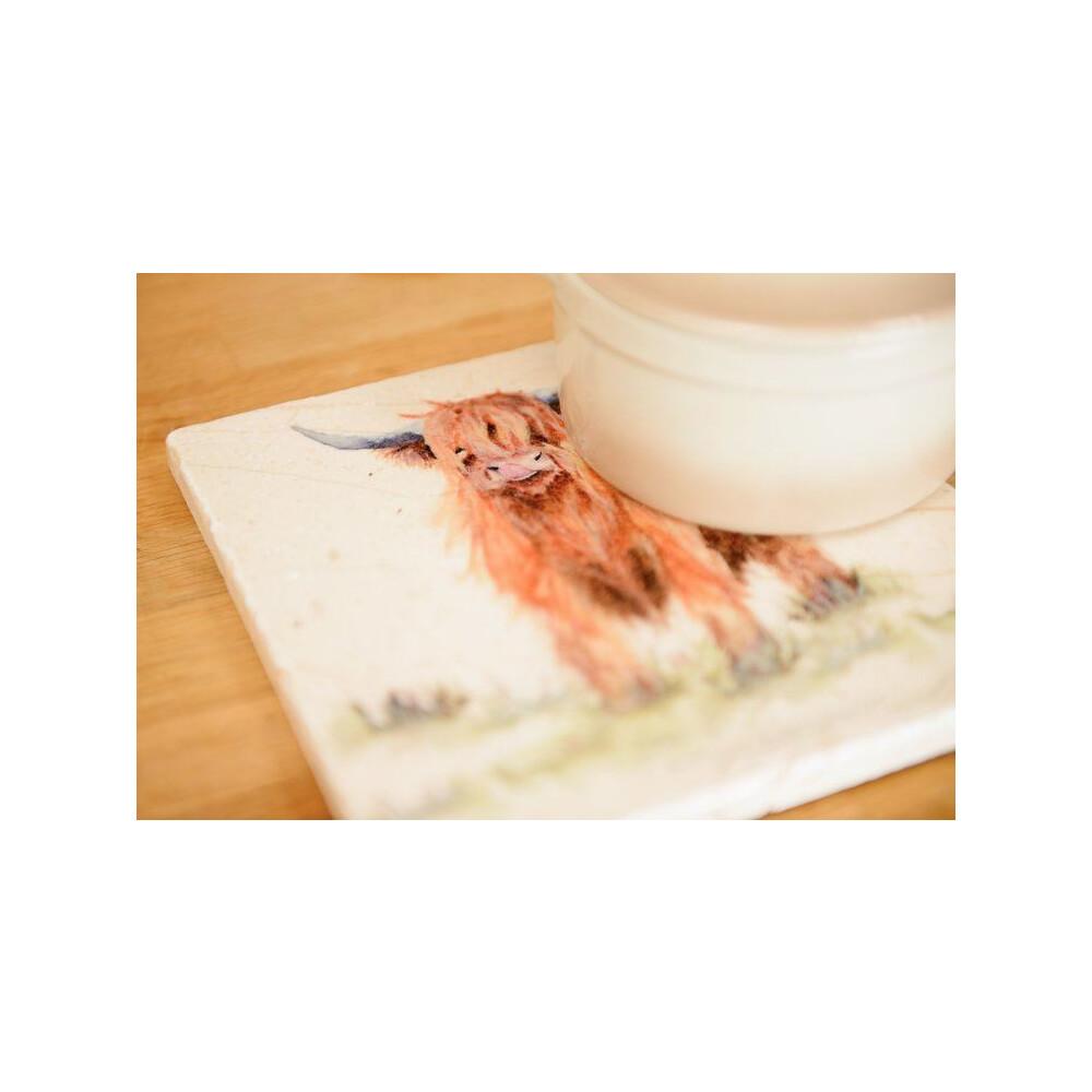 Kate Of Kensington Medium Platter - Highland Cow Highland Cow
