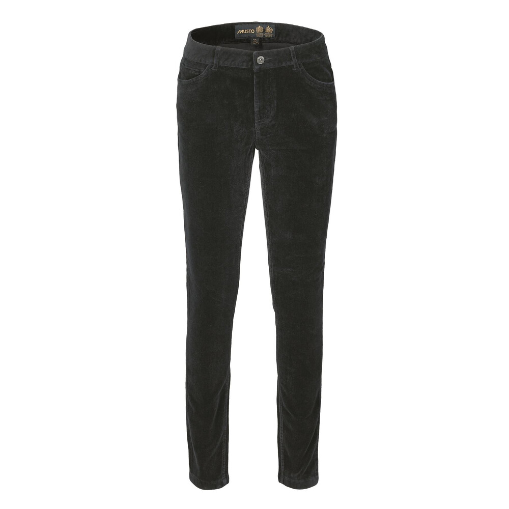 Musto Musto Parry Slim Fit Cords - Black Coffee - Size x