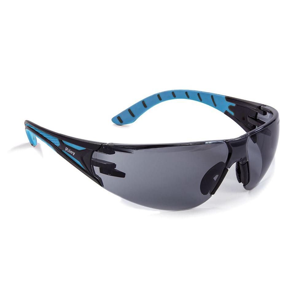 Riley Stream Shooting Glasses - Blue/Grey