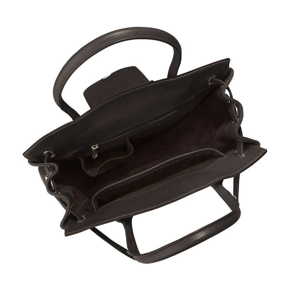 Fairfax & Favor Windsor Handbag - Chocolate Brown