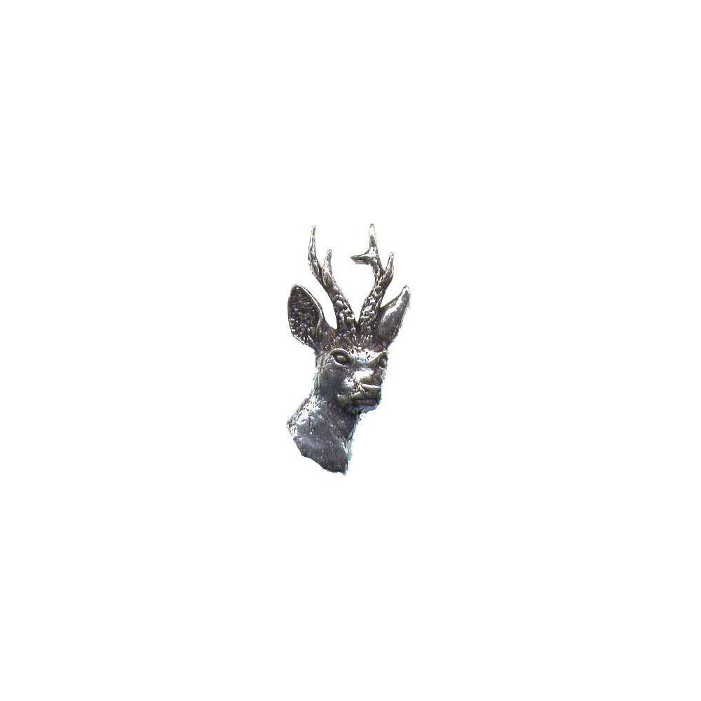 John Rothery Pewter Pin Badge - Roe Deer Unknown