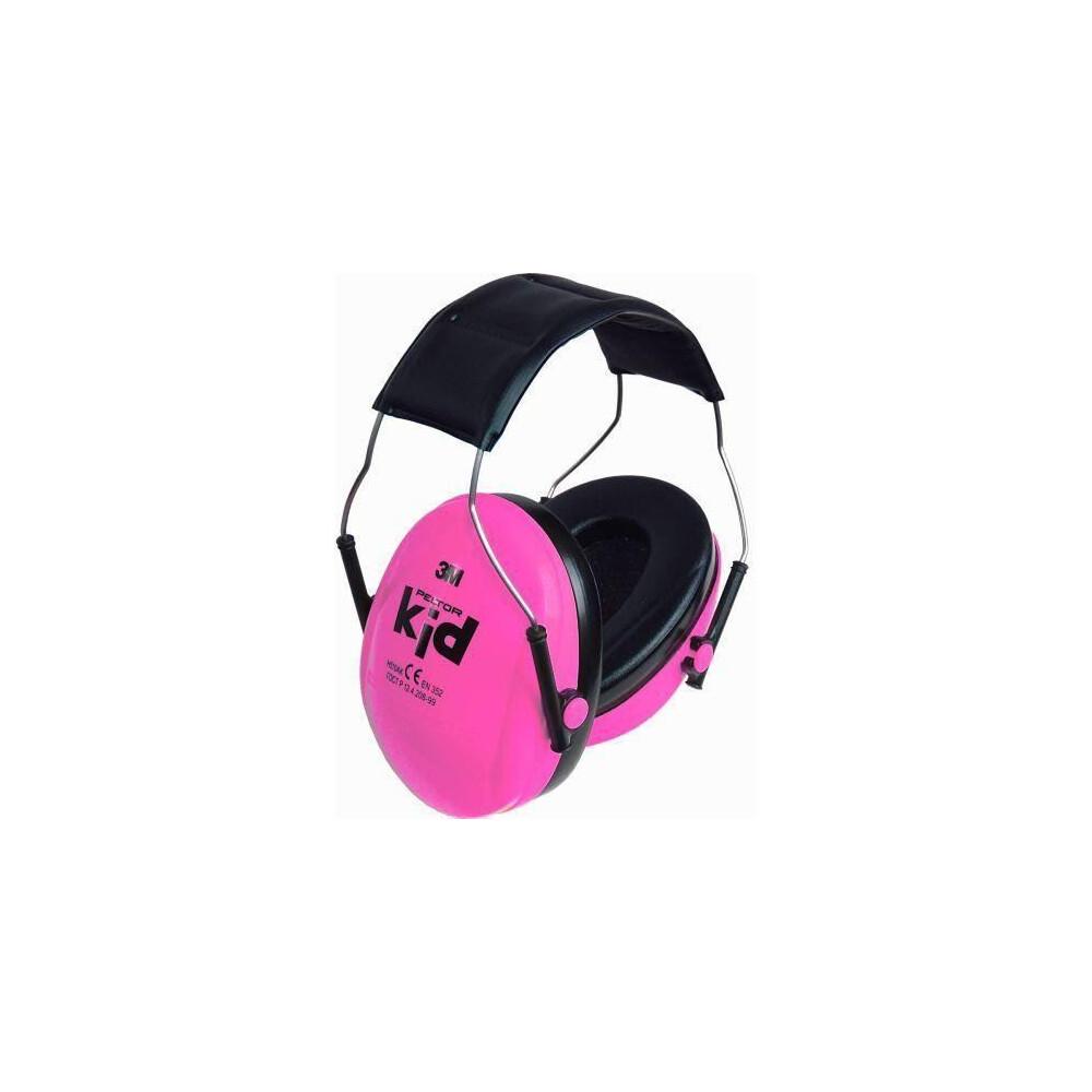 Peltor Kids Ear Defenders Pink