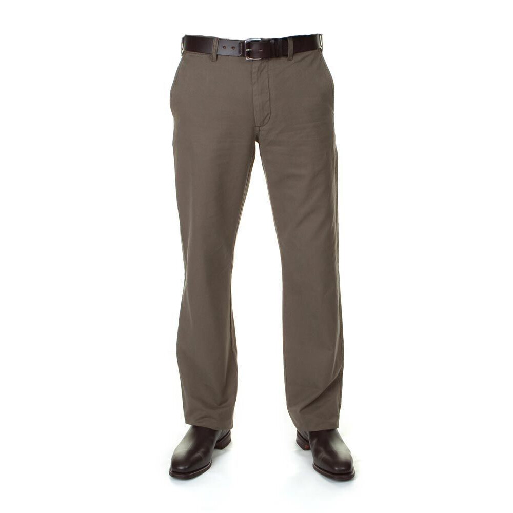 R.M.Williams Harcourt Trouser - Khaki - Regular Khaki