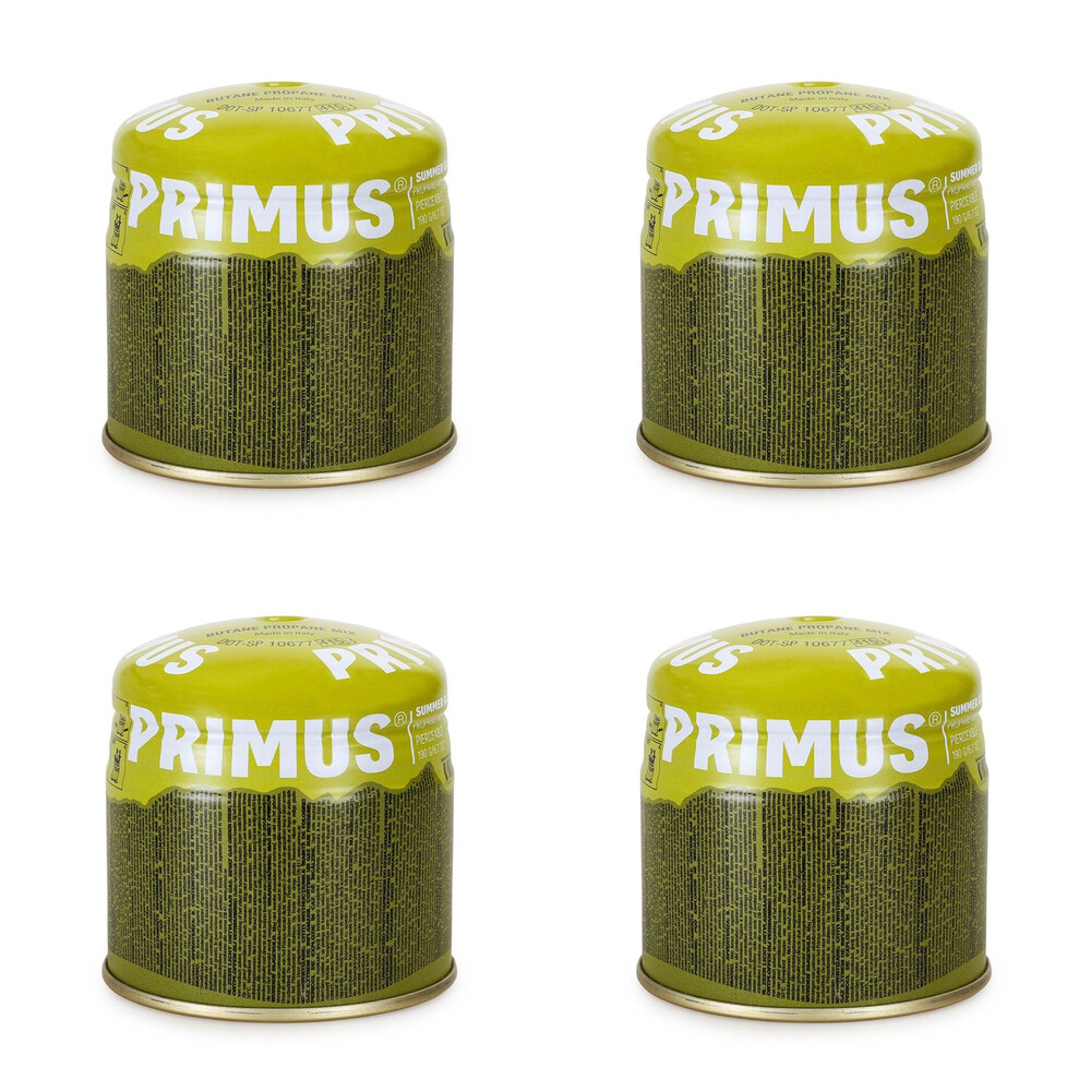 Primus Summer Gas - Pierceable - 190g - Pack of 4